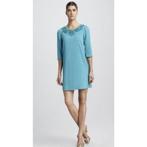 Kate Spade Turquoise Blue Vanessa Beaded Cocktail